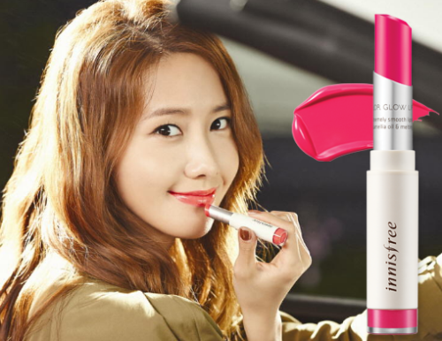 Son môi Color Glow Lipstick Innisfree