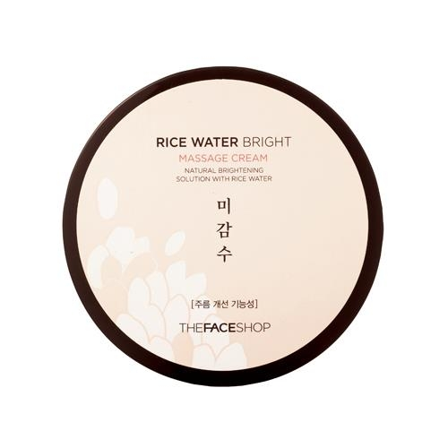 Kem Massage Dưỡng Trắng - Rice Water Bright The Face Shop