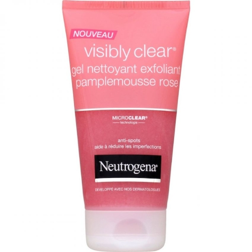 Sữa Rửa Mặt Neutrogena Nouveau Visibly Clear pamplemousse rose 150ml