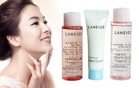Bộ Kit tẩy trang Laneige New Cleansing Trial Kit