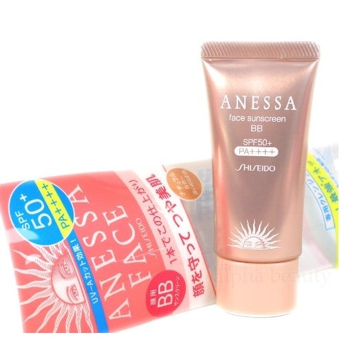 Kem BB Shiseido Anessa Face Sunscreen 30g