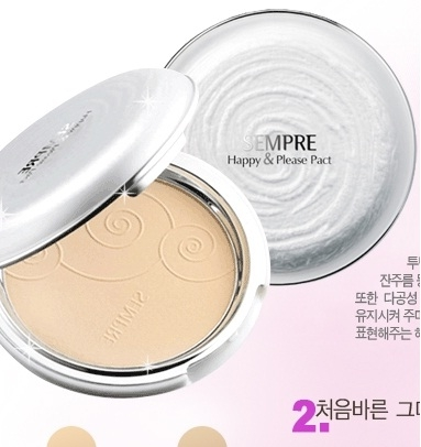 Phấn Geo Siêu Mịn Sempre Happy Please Pact