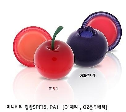 Son quả Mini berry LipBalm Tonymoly