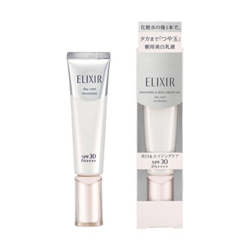 Kem Dưỡng Ngày Shiseido Elixir Whitening & Skin Care By Age Day Care Revolution SPF 30/PA++++ 35ml