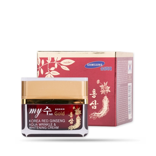 Kem Dưỡng Da Hồng Sâm My Gold Wrinkle and Whitening Cream 50ml