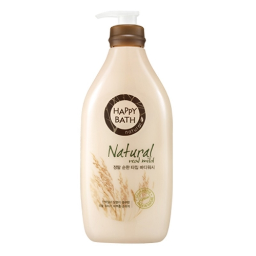 Sữa tắm gạo Happy Bath Natural Real Mild 900g