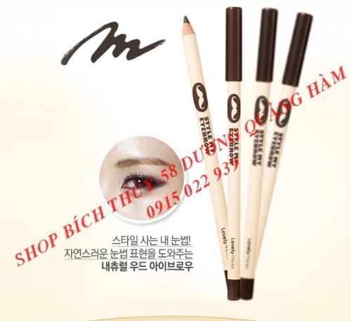 Chì kẻ Mắt style eye line the face shop