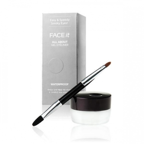 Gel kẻ mắt không trôi - Face it All about gel eyeliner waterproof