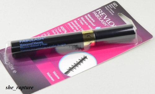 Mascara Revlon FABULASH Waterproof  BLACKEST BLACK #021
