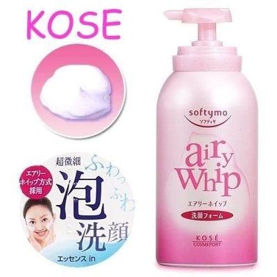 Tẩy trang Kose softymo Airy Whip Cleansing Foam