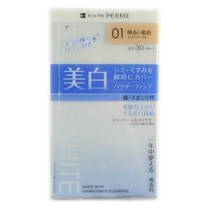 Phấn Kiss Me White Ferme Beauty  SPF30 PA